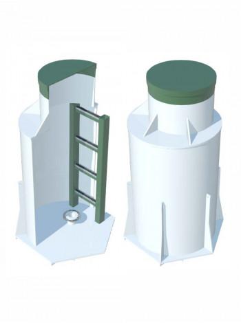 Кессон ТОПОЛ-ЭКО  К-4Long (муфта 140-150)