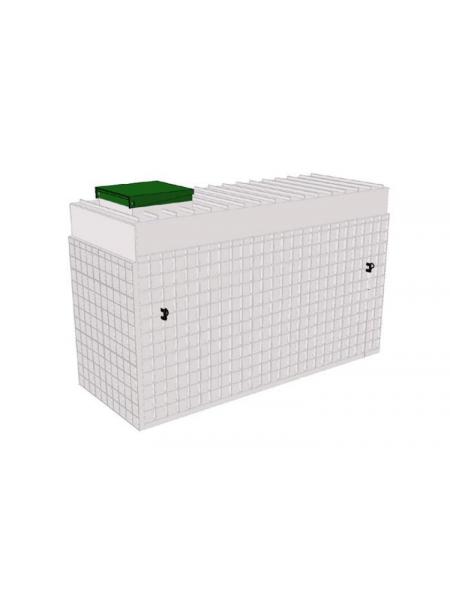 Ёмкость прямоугольная 530х530х2165 – ЕПП-0,5