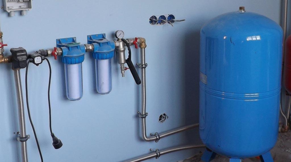 Монтаж автономного водоснабжения